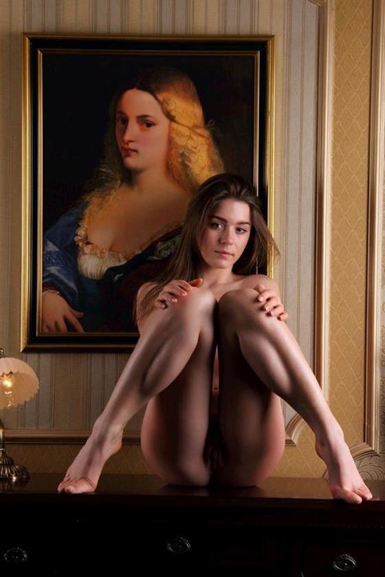 Naughty British Lady Sherlyn Panties Photos 1 Of 8