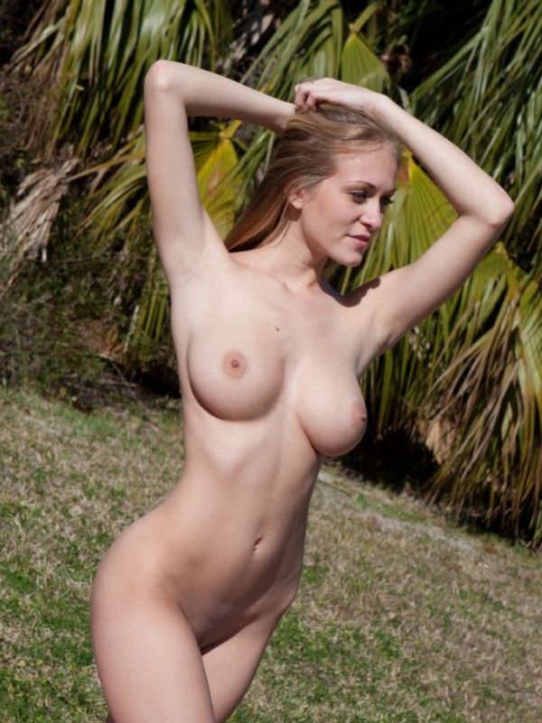 Exotic Latvian Model Amiah Public 1 Of 22
