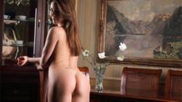 Skinny Russian Lady Laney Masturbation