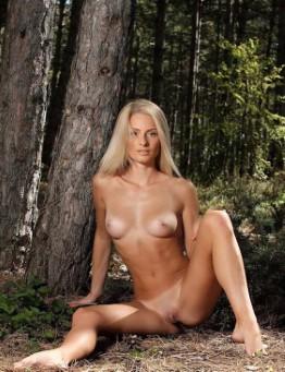 Wild English Model Lilah Panties Images