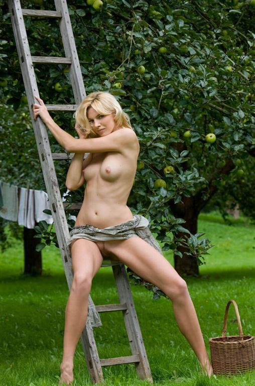 erotisk adventskalender eli kari gjengedal naken